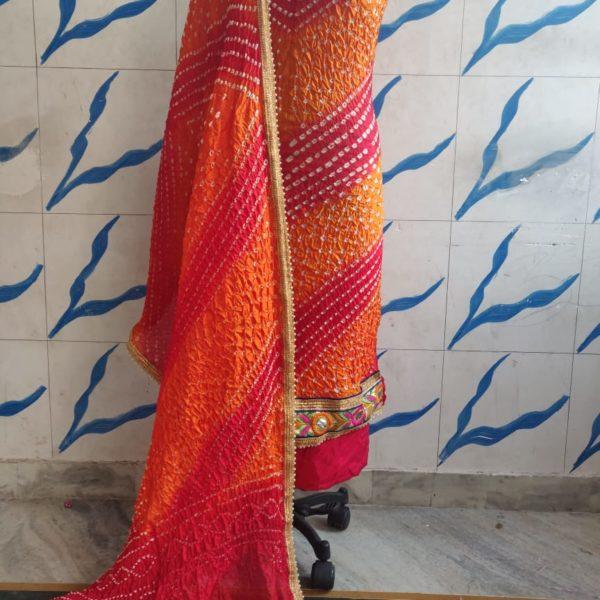 Art Silk Dress Material